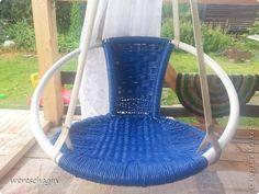 Поделка изделие Моделирование конструирование Подвесное кресло фото 3