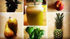 #sok #koktajl #ananas #bazylia #zdrowy #fit #dieta #odchudzanie http://przepisynasoki.pl/sok-z-ananasa/