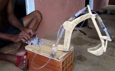 This Kid Made A Very Impressive DIY Excavator Using Syringe Hydraulics