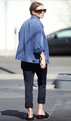 Ashley Olsen Sports A Vintage-Inspired Jacket In LA