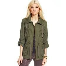 Image result for khaki army jacket womens