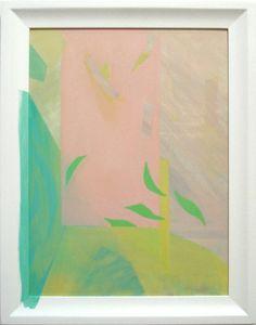Saskia Leek, Fruit Subject 3, 2012, oil on board, 470 x 370 mm