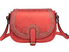 2014 New LadiesDelicate Drill PU Leather Magnetic Snap Crossbody Shoulder Bag