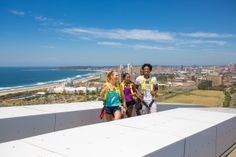 Take the 500 steps to the top of the Moses Mabhida Stadium arch and see Durban like never before South African Holidays, Sky Walk, City By The Sea, Touring, Attraction, Dolores Park, Arch, Scenery, Adventure
