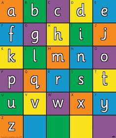 Bee-Bot kleurige alfabet mat