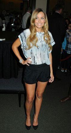 Lauren conrad shorts and top
