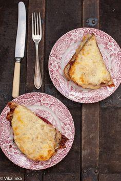 Classic French Croque Monsieur sandwich FOR JESS!
