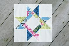 Solstice Stars Series : Another Star – Fresh Lemons Modern Quilts