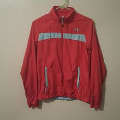 Light weight jacket Pink & blue The North Face jacket size small The North Face Jackets & Coats