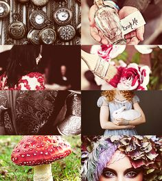 Fairy Tale Picspam - Alice in Wonderland