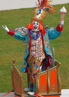 Fantastafabulous parade clown costume, photo by hey.rube, via Flickr