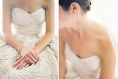 Silver Sweetheart Monique Lhuillier Wedding Dress