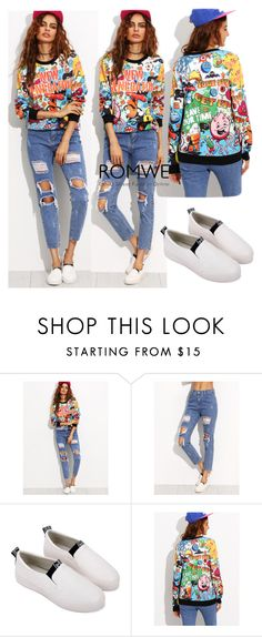 """""""6/9 romwe"""" by fatimka-becirovic ❤ liked on Polyvore"""