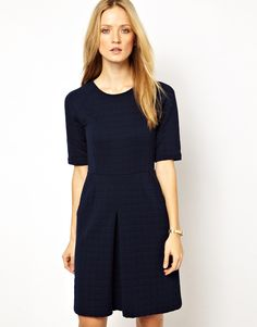 Whistles Quilted Dress