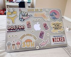 Apple MacBook Pro Laptop - (May, Silver) for sale online Apple Laptop Stickers, Macbook Air Stickers, Mac Stickers, Laptop Cover Stickers, Funda Macbook Air, Coque Macbook, Macbook Case, Macbook Pro, Computer Case