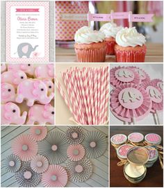 Baby Shower Ideas for Girls themes Elephant Party Favors . New Baby Shower Ideas for Girls themes Elephant Party Favors . Pink and Gray Elephant Girl Baby Shower Stickers 324 Count Shower Bebe, Baby Boy Shower, Baby Shower Gifts, Elephant Party, Elephant Baby Showers, Elephant Theme, Elephant Room, Girl Baby Shower Decorations, Baby Shower Themes