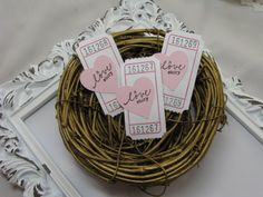 A Love Story Tickets Bridal Shower Games by GoldenNestStudio