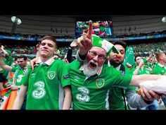 11 Moments that endeared the Irish Fans in Euro 2016 - YouTube