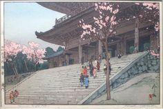 Hiroshi Yoshida 4 templo