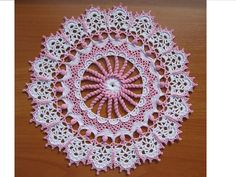 Rosa by Patricia Kristoffersen/Doilies with a Twist