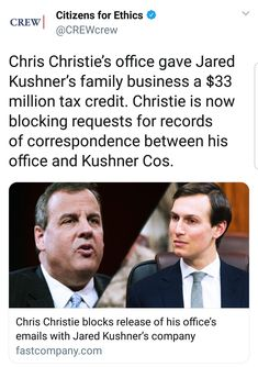 Christie was a public servant who gave away public money. Citizens have a right to know how and WHY their money is spent. Former President, Presidents, Politics, Shit Happens, Thoughts, Humor, Feelings, Reading, Words
