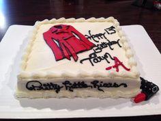 My Pretty Little Liars red coat 13th birthday cake!