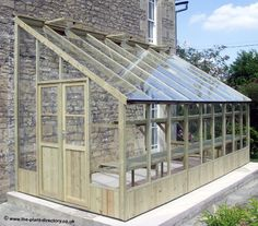 This style of lean-to greenhouse on one side of the house. Description from pinterest.com. I searched for this on bing.com/images