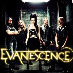 Evanesence.  My #1 favorite band!!!