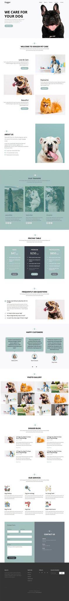 Free Resource to explore your imagine Pet Websites, Pet Hospital, Free Web Design, Pet Hotel, Pricing Table, Pet Clinic, Free Website Templates, Best Web, Popup