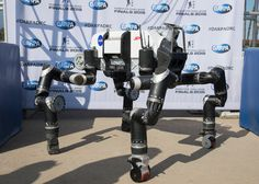 RoboSimian: Nasa robots that will explore other worlds and disaster zones