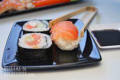 Sushi hecho en casa!