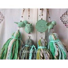 Borlas Decorativas Colgantes Puertas Ventanas Cajones Chic - $ 340,00 en Mercado Libre