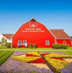 On 90 miles of northern Indiana backroads, murals and meticulously planted gardens blend Amish quilt-making tradition with the landscape itself. Use our three-day itinerary to plan your own trip: http://www.midwestliving.com/travel/indiana/quilt-garden-getaway-indianas-amish-country/