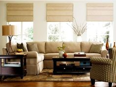 Looking for Neutral Living Space and Living Room ideas? Browse Neutral Living Space and Living Room images for decor, layout, furniture, and storage inspiration from HGTV. Cream Living Rooms, New Living Room, Living Room Decor, Living Spaces, Living Area, Sofa Colors, Transitional Living Rooms, Living Room Pictures, Organizer