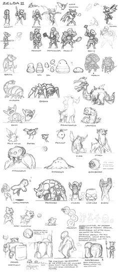Zelda concepts