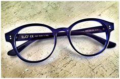 Pollipò Occhiali Eyewear style n. 607-02. Round glasses /// Occhiali tondi da vista.