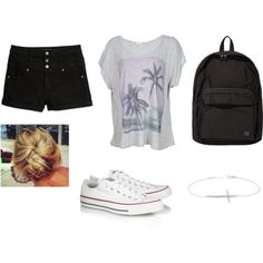"""""""Middle School Clothes"""" by cayley-guentner on Polyvore"""