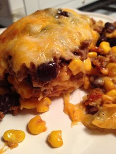 Black bean and beef Enchilada Casserole - trying it tonite 9/15/13 :)