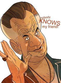 "The Sopranos - Paulie Walnuts ""Nobody knows my friend!"" #GangsterFlick"