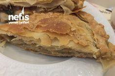 Patlıcanlı Arnavut Böreği Tarifi Apple Pie, Food And Drink, Cooking Recipes, Bread, Breakfast, Desserts, Kitchen, Art, Amigurumi