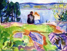Edvard Munch - Springtime, 1911/13