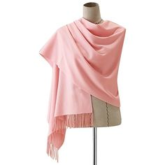 QBSM Women's Large Soft Scarf Solid Color Pashmina Cashmere Shawl Wrap... ($14) ❤ liked on Polyvore featuring accessories, scarves, wrap shawl, cashmere scarves, wrap scarves, cashmere shawls and cashmere wrap shawl