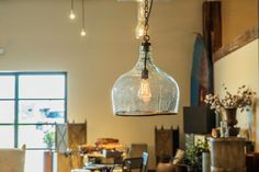 Modern and timeless. Our Clear Balon Pendant