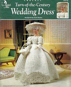 Turn of the Century Wedding Dress  Fashion by grammysyarngarden, $8.00