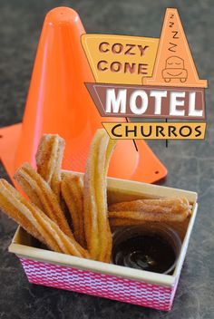 Cars Land Churros -