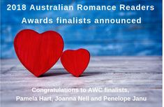 Voting has opened for the 2018 Australian Romance Readers Awards and we are delighted to announce that Pamela Hart (aka Pamela Freeman, AWC's Director of Sydney Restaurants, Romance Authors, Historical Romance, Creative Writing, Inspire Me, Writers, Congratulations, Centre, Awards