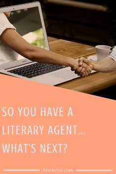 You've made one giant leap forward, but there's still work to do! So what exactly happens between signing with your literary agent and getting a book deal?