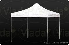 Carpa plegable color blanco 3x3 gama optima #carpa #carpaplegable #carpaplegablebarata http://viada.net/tienda/