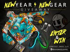 ENTER https://wn.nr/6L9NB   What's up 2016 fam? Emazing's hooking you up with some sick new gear. Enter to win: eLite Chroma CTRL Glove Set Electric Styles Bolt Light Up LED Shoes INTO THE AM Digital Wolf Hoodie Sol Republic Deadmau5 Tracks HD Headphones eCharge - Rechargeable eLite Battery Pack