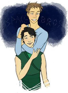 Thorne + Kai = Space Bros by lovelunarchron